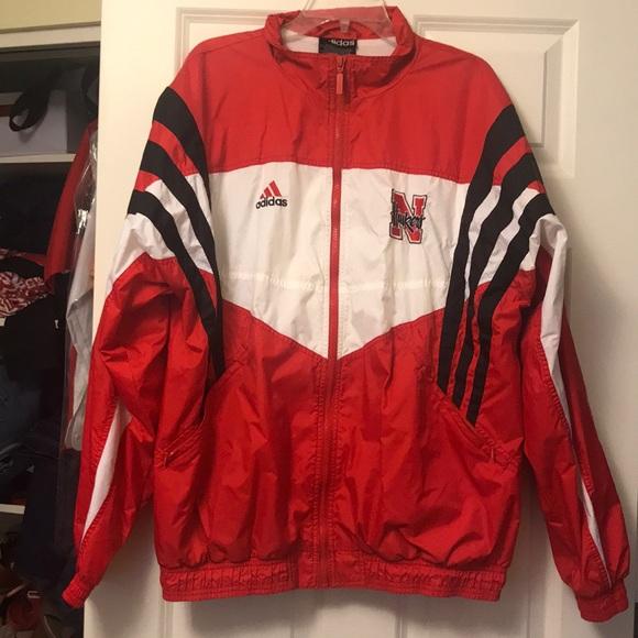 89a52a860762d Make an Offer Vintage Adidas Nebraska Football